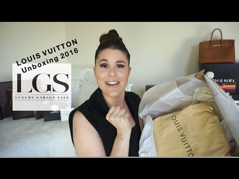 LOUIS VUITTON Unboxing 2016  | Luxury Garage Sale