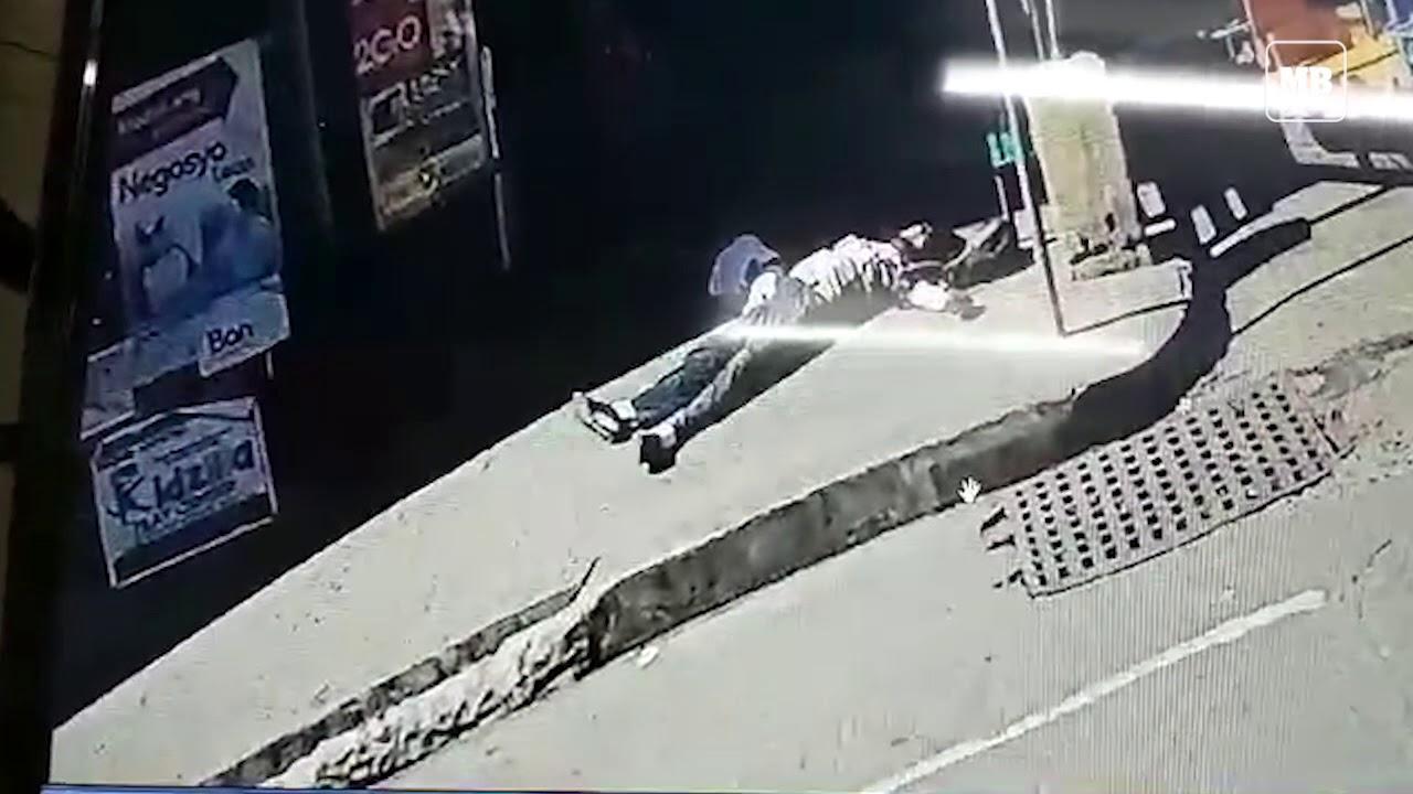 CCTV footage of Imam Bedejim Abdullah's shooting