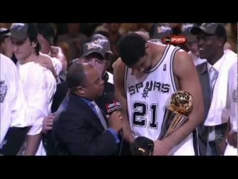 Tim Duncan - 2005 Finals MVP