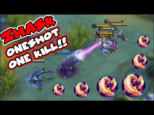 NEW HERO ZHASK FULL BLOOD WINGS | ONESHOT EVERYTHING INSANE DAMAGE MAGE | Mobile Legends Update