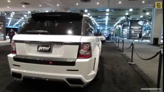 2012 Range Rover Sport Mansory Kit by RTW Motoring Exterior Walkaround 2013 NY Auto Show