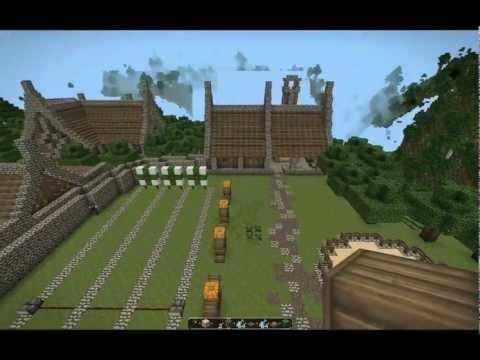 Minecraft - Гильдия Воинов [Скачиваемая карта]
