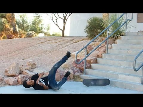 10 STAIR BATTLE - CARLOS LASTRA!