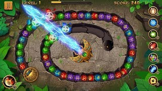 Jungle Marble Blast Amazing Marble Game - Top Gameplay Android casual game for android gameplay.