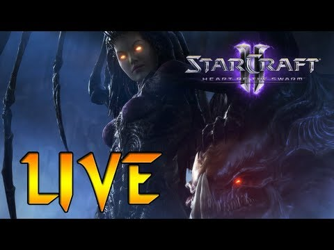 Starcraft 2: Heart of the Swarm - MULTIJUGADOR - DIRECTO!!