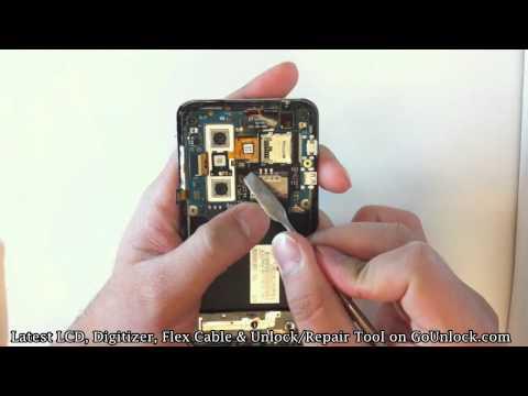 LG Thrill 4G Optimus 3D P925 Screen Repair Disassemble Take Apart Video Guide