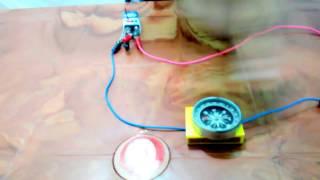 চুম্বক  ক্ষেত্র তড়িৎ প্রবাহের ফলে তৈরি হয়ঃ প্রমান  Current create magnetic field  I Science Activity