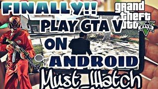 GRAND THEFT AUTO - V ON ANDROID 100% REAL