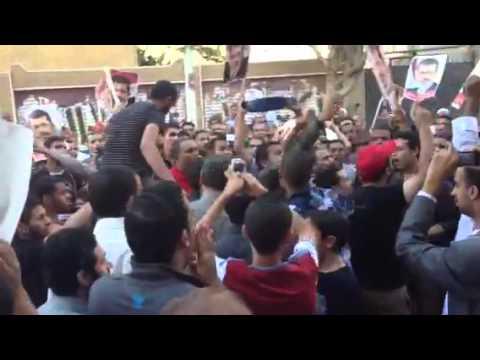 Egypt post eid protest- Tahta - 8/8/13