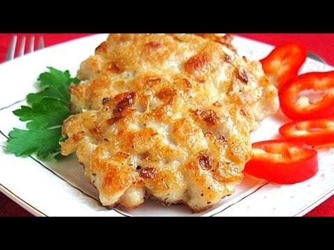 Рубленные котлеты из курицы и сыром рецепт