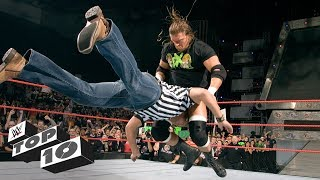 Guest referees get wrecked - WWE Top 10