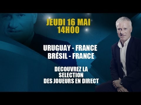 Conférence en direct de Didier Deschamps