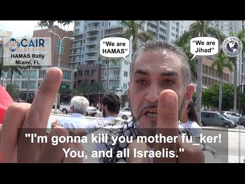 Miami HAMAS ATTACKS Jewish Reporter!