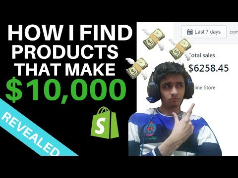 HOW I FIND HOT PRODUCTS THAT MAKE ME $10K [Step by Step] Shopify Dropshipping