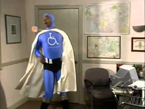 Джим Керри - Инвалид против Доктора Гнида!
