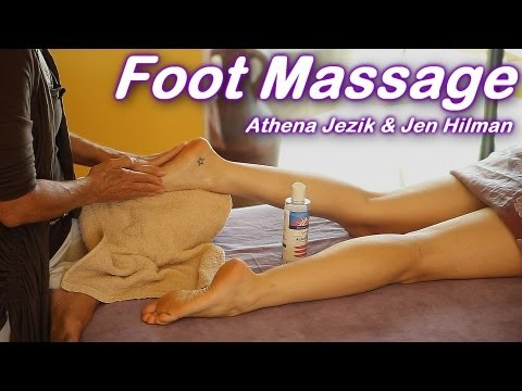 Foot Massage How To Techniques, Athena Jezik & Jen Hilman, Feet - Full Body Work Series