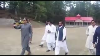 Imran khan in bani gala