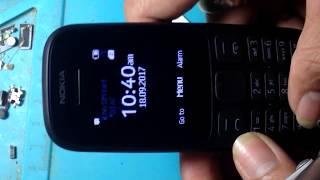 Nokia 105 2017(TA-1034) mic problem solution