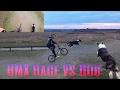 BMX Race Vs Dog !