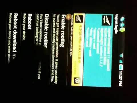 Tegrak Kernel Samsung Galaxy S I9000
