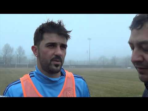 David Villa ~ New York City FC Training 4/10/15