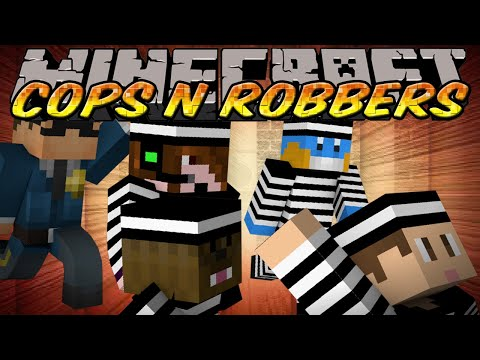 Minecraft Mini-Game : Cops N Robbers - The Good Inmate