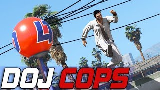 Dept. of Justice Cops #679 - Peekaboo Parkour