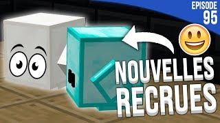 J'AI RECRUTÉ DES BLOCS DE COMPAGNIE ! | Minecraft Moddé S4 | Episode 95