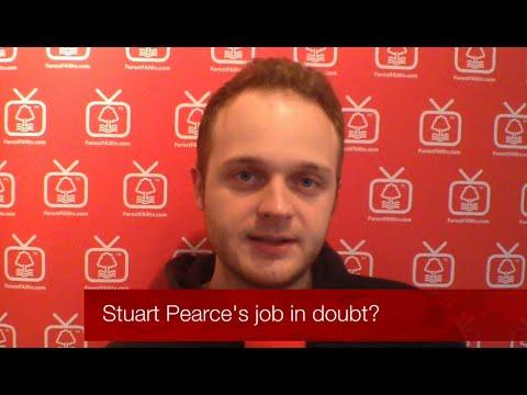 Stuart Pearce's future in doubt?