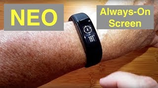 "WeLoop NEO IP68 3ATM Waterproof GPS ""Always On"" Screen Sports Fitness Smartband: Unboxing & Review"