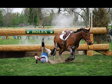 Horse riding – Cross Country & Show Jumping … Gone wrong