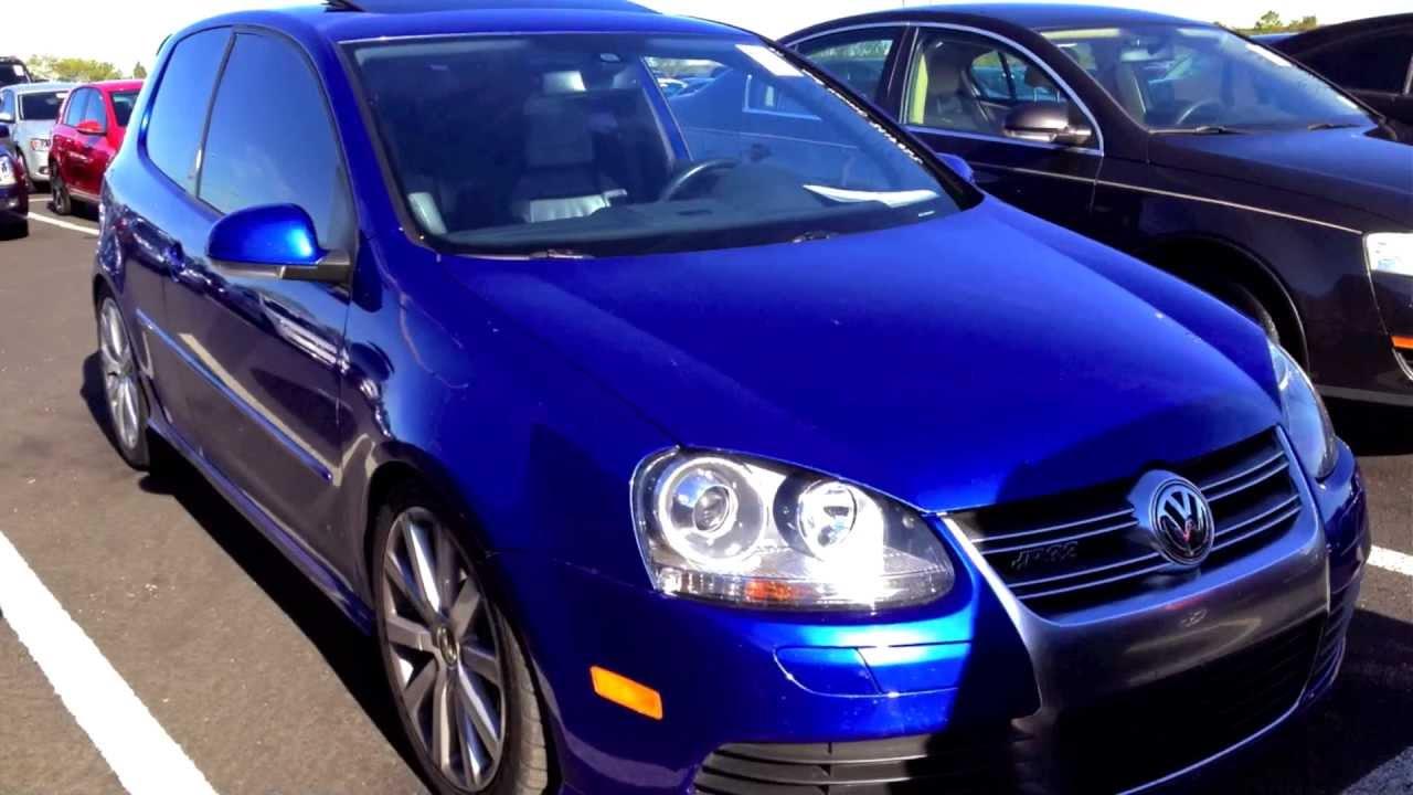 2008 Volkswagen Rabbit R32 3.2L V6 AWD Start Up & Rev - 48K (Car 3135/5000) - YouTube