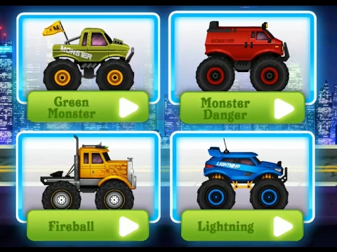 Monster Truck Police Racing  PART 1 Videos Games for Kids - Girls - Baby Android