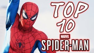 Top 10 Spider-Man Costumes in Spider-Man Ps4
