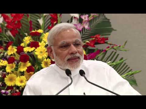 Shri Narendra Modi's speech(Dubbed) - Commemorative coin release