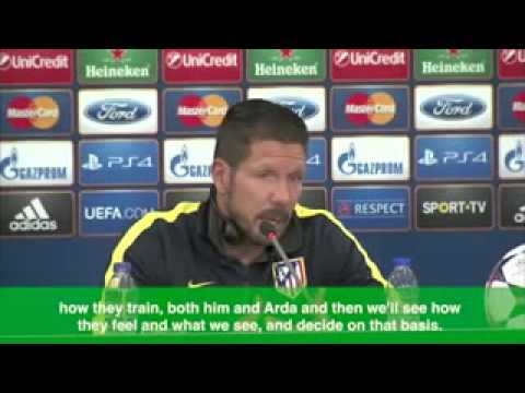 Simeone  We'll see how Diego Costa trains before making decision low