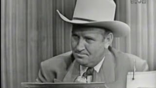 What's My Line? - Gene Autry (Oct 4, 1953)