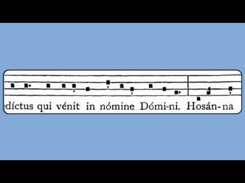 Gregorian Chant - Sanctus XVIII