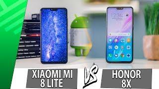 Xiaomi Mi 8 Lite VS Honor 8X | Enfrentamiento | Top Pulso