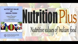 Nutritive Value of Indian Food || Free PDF Download
