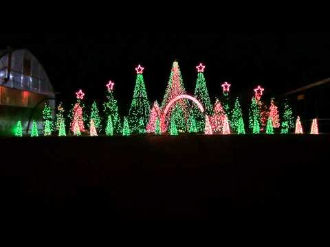 Music Box Dancer - Synchronized Christmas Light Show to Misic Music Videos