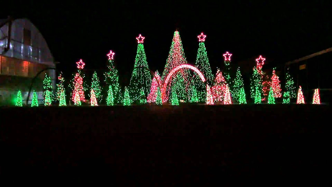 Christmas Music Light Show