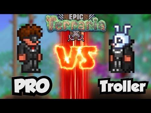 Terraria - Pro vs Troller