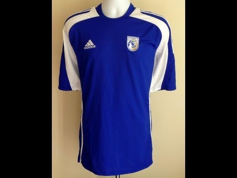 Cyprus National Football Shirt/Jersey by Adidas
