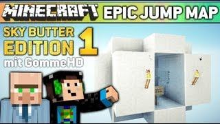 Minecraft EPIC JUMP MAP #1 - GommeHD der Failer! (SkyDoesMinecraft Butter Edition)