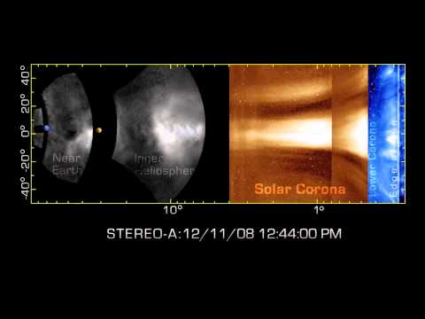 STEREO Tracks Solar Storms From Sun To Earth