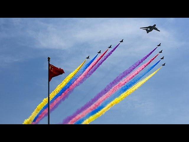 قدرت نمایی چین در مراسم هفتادمین سالگرد پایان جنگ جهانی دوم