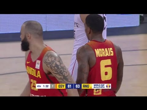 Carlos Morais: Highlights - Angola vs Egypt | FIBA Basketball World Cup 2019 - African Qualifiers