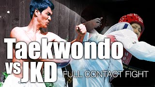 Taekwondo vs Jeet Kune Do