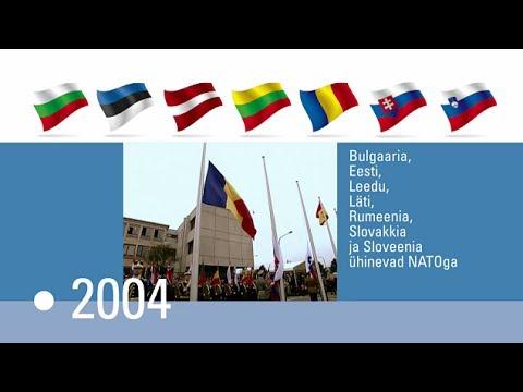NATO ajalugu - kronoloogiavideo (NATO video timeline ESTONIAN)
